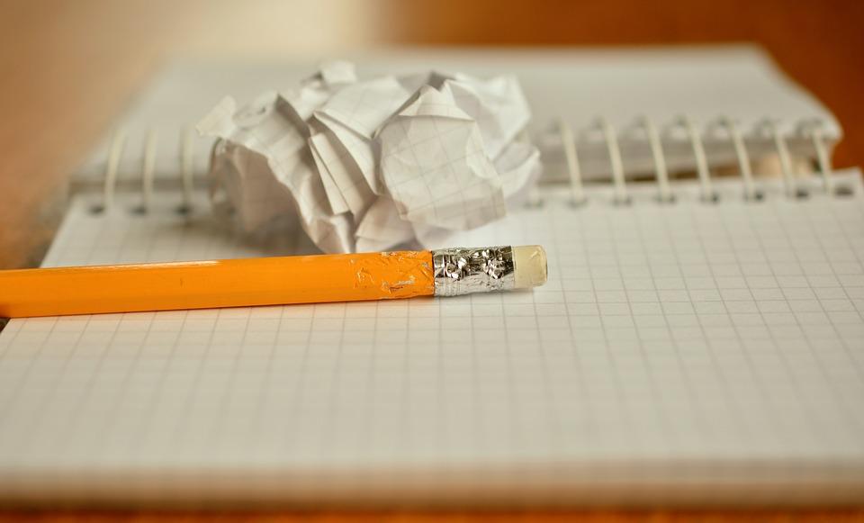 Работа на экзамене по литературе